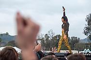 Phantogram -  Bands at Air & Style LA at the Rose Bowl in Pasadena, CA. ©Brett Wilhelm/ESPN