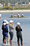 San Diego, California. USA. General Views, Crews boating from the beach. 2013 Crew Classic Regatta, Mission Bay.  10:59:53.  Saturday  06/04/2013   [Mandatory Credit. Peter Spurrier/Intersport Images]  ..