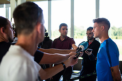 Benjamin Verbic during practice session of Slovenian national football team in national football center in Brdo, 2nd of September, 2019, NNC Brdo. Photo by Grega Valancic / Sportida