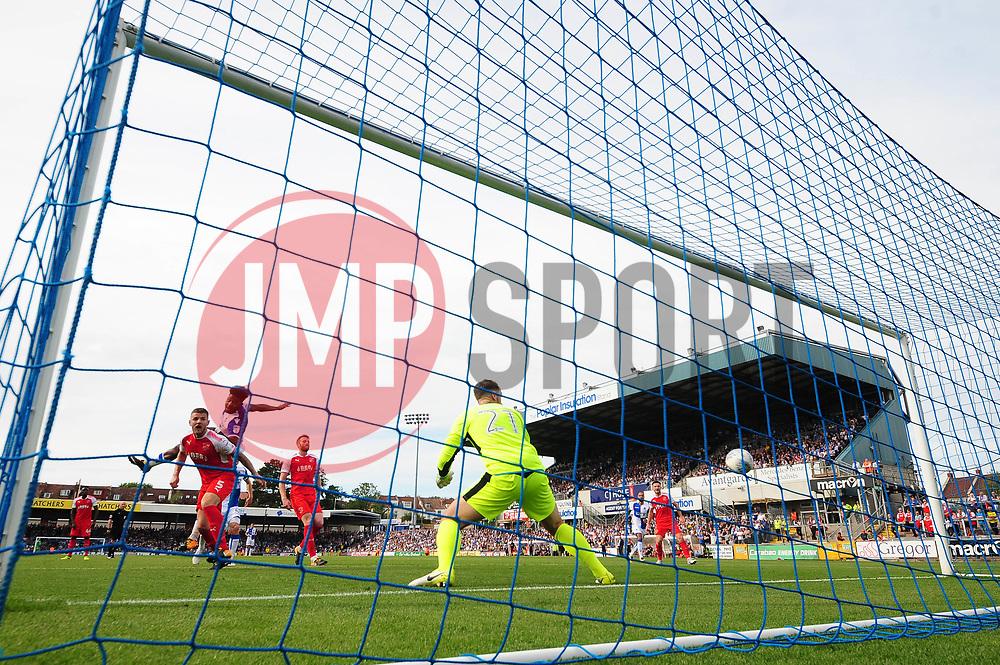 Ellis Harrison of Bristol Rovers scores to make it 3-1 - Mandatory by-line: Dougie Allward/JMP - 26/08/2017 - FOOTBALL - Memorial Stadium - Bristol, England - Bristol Rovers v Fleetwood Town - Sky Bet League One