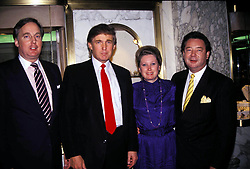 I6481.DONALD TRUMP, ELIZABETH GRACE TRUMP AND ROBERT TRUMP.  /  PHOTOS(Credit Image: © Judie Burstein/ZUMA Wire)