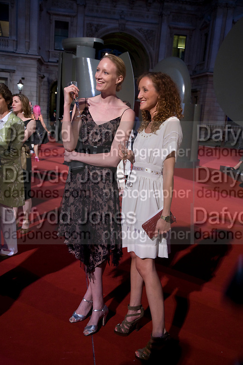 JADE PARFITT AND AMY PARFITT, 240th Royal Academy Summer Exhibition fundraising private view. Piccadilly. London.4 June 2008.  *** Local Caption *** -DO NOT ARCHIVE-© Copyright Photograph by Dafydd Jones. 248 Clapham Rd. London SW9 0PZ. Tel 0207 820 0771. www.dafjones.com.