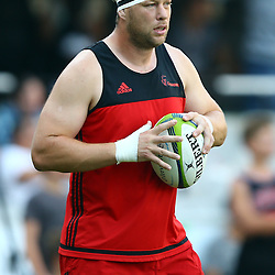 DURBAN, SOUTH AFRICA - MARCH 26: Wyatt Crockett of the BNZ Crusaders during the Super Rugby match between Cell C Sharks and BNZ Crusaders at Growthpoint Kings Park on March 26, 2016 in Durban, South Africa. (Photo by Steve Haag)<br /> <br /> images for social media must have consent from Steve Haag