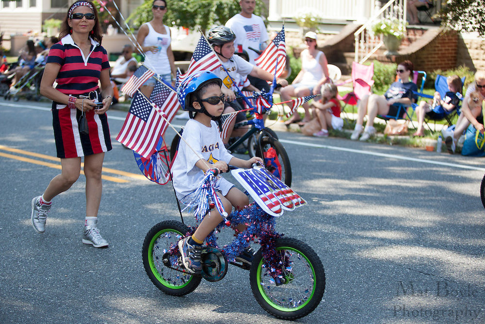Boy Scout Pack 45: Pitman 4th of July Parade down Broadway in Pitman NJ on Wednesday July 4, 2012. (photo / Mat Boyle)