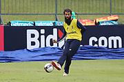 Moeen Ali during the England training session ahead of the 4th ODI, at Pallekele International Cricket Stadium, Pallekele, Sri Lanka on 19 October 2018.
