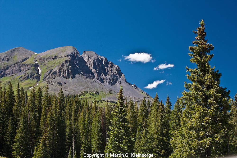 13,148 Ft. Grand Turk of the San Juan Mountains, Colorado.