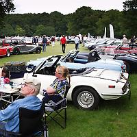 Triumph Club, British Autojumble Waalwijk, Netherlands, on 30 June 2013