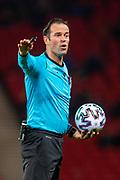 Referee Hendrikus S.H. Bas Niijhuis (NED) during the UEFA European 2020 Group I qualifier match between Scotland and Kazakhstan at Hampden Park, Glasgow, United Kingdom on 19 November 2019.