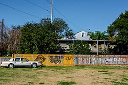 Graffiti in New Orleans' Lower Garden District