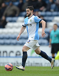 Blackburn Rovers's Craig Conway in action - Photo mandatory by-line: Richard Martin Roberts/JMP - Mobile: 07966 386802 - 24/01/2015 - SPORT - Football - Blackburn - Ewood Park - Blackburn Rovers v Swansea City - FA Cup Fourth Round