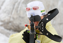 Sportsman of Slovenian Women Biathlon Team at Dachstein glacier before new season 2008/2009, Austria, on October 30, 2008.  (Photo by Vid Ponikvar / Sportida)