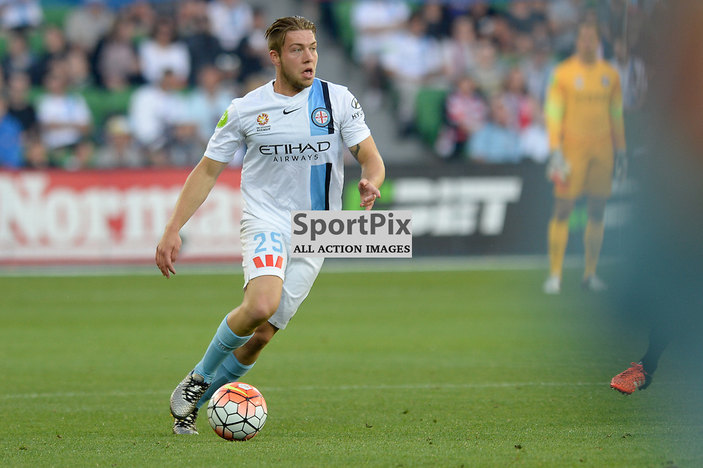Jacob Melling of Melbourne City - Hyundai A-League, January 9th 2016, RD14 match between Melbourne City FC v Western Sydney Wanderers FC at Aami Park in a 3:2 win to City. Melbourne, Australia. © Mark Avellino   SportPix.org.uk