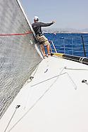 08_008387  © Sander van der Borch. Porto Portals, Mallorca,  July 21th 2008. AUDI MEDCUP in Porto Portals  (21/26 July 2008). Practice race.