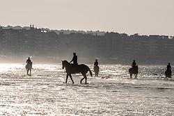 Beach ride<br /> Beach ride on the Sunday morning<br /> La Baule 2018<br /> © Hippo Foto - Tiffany Van Halle<br /> 20/05/2018