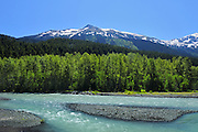 Ogilvie Creek and the Coast Mountains on the Stewart-Cassiar Highway<br /> <br /> Stewart-Cassiar Highway<br /> British Columbia<br /> Canada
