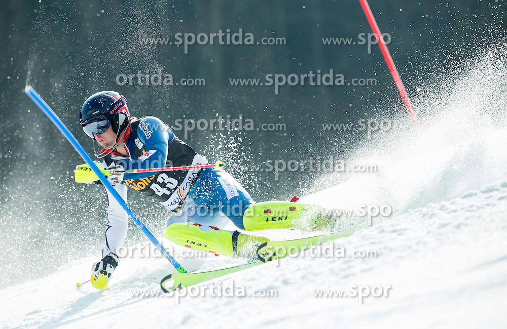 RYDING Dave of Great Britain competes during 1st Run of Men Slalom race of FIS Alpine Ski World Cup 54th Vitranc Cup 2015, on March 15, 2015 in Kranjska Gora, Slovenia. Photo by Vid Ponikvar / Sportida