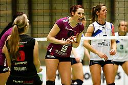 20150207 NED: Eredivisie Sliedrecht Sport - Eurosped TVT, Sliedrecht<br />Jeanine Stoeten (9) of Eurosped TVT<br />©2014-FotoHoogendoorn.nl / Pim Waslander