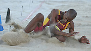 STELLENBOSCH, SOUTH AFRICA, Tuesday 20 March 2012, Luvo Manyonga in the mens long jump during the Yellow Pages Series athletics meeting at the University of Stellenbosch Coetzenburg stadium..Photo by Roger Sedres/Image SA