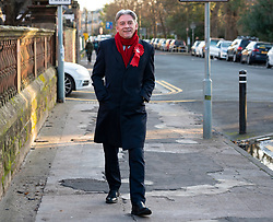 Edinburgh, Scotland, UK. 9th December 2019. Scottish Labour leader Richard Leonard outside Edinburgh's Royal Hospital for Sick Children to highlight the risks to the NHS and outline Labour's plans to invest in and revive the health service. Iain Masterton/Alamy Live News