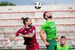 LukaMajcen of NK Triglav Kranj during football match between NK Triglav Kranj and NK Krskoi in Round #29 of Prva Liga Telekom Slovenije 2017/18, on May 2, 2018 in Sports park Kranj, Kranj, Slovenia. Photo by Ziga Zupan / Sportida