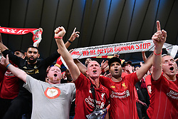 June 1, 2019 - Madrid, Spagna - Foto Alfredo Falcone - LaPresse.01/06/2019 Madrid ( Spagna).Sport Calcio.Liverpool - Tottenham.Finale Uefa Champions League 2018 2019 - Stadio Wanda Metropolitano di Madrid.Nella foto: tifosi Liverpool.Photo Alfredo Falcone - LaPresse.01/06/2019 Madrid (spain).Sport Soccer.Liverpool - Tottenham.Final Uefa Champions League  2018 2019 - Wanda Metropolitano Stadium of Madrid.In the pic: Liverpool supporters (Credit Image: © Alfredo Falcone/Lapresse via ZUMA Press)