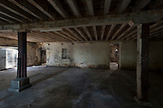 Mauritius. Interior of the old French Military Hospital in Port Louis.