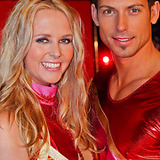 NLD/Utrecht/20110126 - Perspresentatie Sterren Dansen op het IJs 2011, Monique Smit en Joel Geleynse