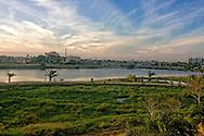 View towards town from the Hotel Ciego de Avila, Cuba.