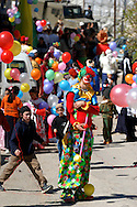 Purim parade at Hevron, Isarel.