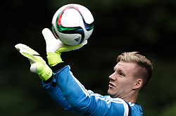 03.06.2015, Steinbergstadion, Leogang, AUT, U 21 EM, Vorbereitung Deutschland, im Bild Bernd Leno (Bayer Leverkusen, Deutschland U21) // during Trainingscamp of Team Germany for Preparation of the UEFA European Under 21 Championship at the Steinbergstadium in Leogang, Austria on 2015/06/03. EXPA Pictures © 2015, PhotoCredit: EXPA/ JFK