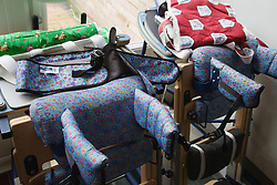 Therapeutic equipment for physically disabled pupils in a special school,