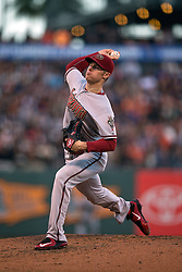 SAN FRANCISCO, CA - JUNE 12:  Chase Anderson #57 of the Arizona Diamondbacks pitches against the San Francisco Giants during the second inning at AT&T Park on June 12, 2015 in San Francisco, California.  The Arizona Diamondbacks defeated the San Francisco Giants 1-0. (Photo by Jason O. Watson/Getty Images) *** Local Caption *** Chase Anderson