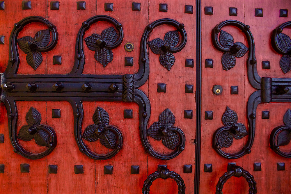 Door detail, St. Paul Cathedral, Oakland, Pittsburgh,