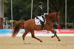 Michalke, Victoria, Duke of Britain <br /> Verden - Int. Dressur- und Springfestival<br /> Finale Dressurpferde 6j.<br /> © www.sportfotos-lafrentz.de/ Stefan Lafrentz