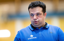 Damir Grgic, head coach of Slovenia during friendly basketball match between Women National teams of Slovenia and Croatia before FIBA Eurobasket Women 2017 in Prague, on June 1, 2017 in Celje, Slovenia. Photo by Vid Ponikvar / Sportida
