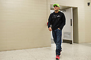 DALLAS, TX - MARCH 13:  Rafael Dos Anjos walks to the scale during the UFC 185 weigh-ins at the Kay Bailey Hutchison Convention Center on March 13, 2015 in Dallas, Texas. (Photo by Cooper Neill/Zuffa LLC/Zuffa LLC via Getty Images) *** Local Caption *** Rafael Dos Anjos