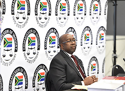 South Africa: Johannesburg: Finance minister Nhlanhla Nene prepares to testify at the state capture inquiry, the inquiry is investigating allegations of corruption centred around the controversial Gupta family. Gauteng.<br />03.10.2018<br />Picture: Itumeleng English/African News Agency (ANA)