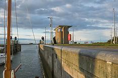 Kornwerderzand, afsluitdijk, Súdwest-Fryslân, Fryslân, Nederland, Netherlands