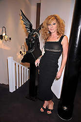 KELLY HOPPEN at a party to celebrate the new Stephen Webster store on Mount Street, London W1 followed by a dinner at Maddox, Mill Street, London on 24th June 2009.