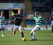 Celtic&rsquo;s Stuart Armstrong and Dundee&rsquo;s Mark O&rsquo;Hara - Dundee v Celtic in the Ladbrokes Scottish Premiership at Dens Park, Dundee.Photo: David Young<br /> <br />  - &copy; David Young - www.davidyoungphoto.co.uk - email: davidyoungphoto@gmail.com