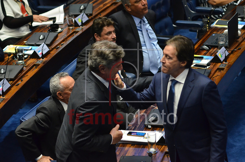 Brasilia (DF), 01/02/2017-Sessão plenaria do senado para eleicão do novo presidente do senado federal . Foto: Renato Costa / FramePhoto