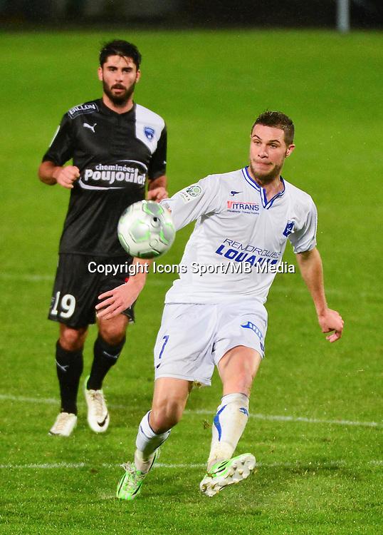 Pierre BOUBY   - 19.12.2014 - Auxerre / Niort - 18e journee Ligue 2<br /> Photo : Dave Winter / Icon Sport
