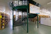Vienna, Austria. Veterinärmedizinische Universität Wien (Vetmeduni Vienna).<br /> The library.