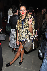 BIP LING at a party as part of the Vogue Fashion's Night Out held at Tod's, 2-5 Bond Street, London on 6th September 2012.