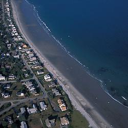 Kennebunk, ME. Near Rachel Carson N.W.R. Drakes Island Beach.  Beachfront development.