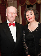 At the SCSI, (Society of Chartered Surveyors Ireland) - Western Region Annual Dinner 2016 in the Ardilaun Hotel Galway were Pat Carter, Sligo IT and Karol Jackson Chair South East Region SCSI . Photo:Andrew Downes, xpousre