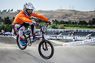 Men Elite #921 (HARMSEN Joris) NED the 2018 UCI BMX World Championships in Baku, Azerbaijan.