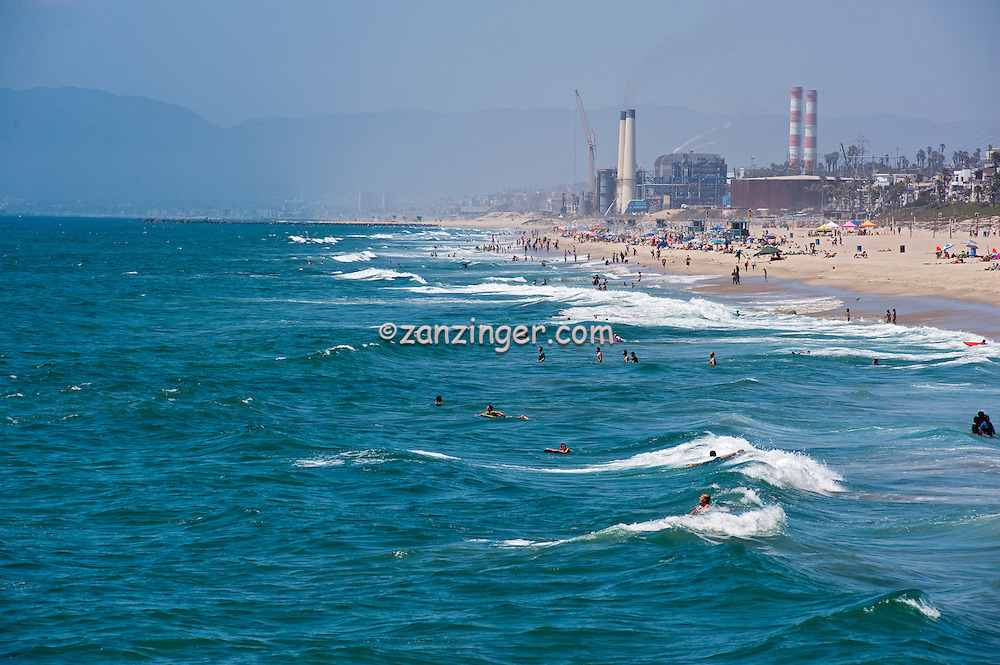 El Segundo, CA, Edison Power Plant, Manhattan, Beach, CA, Southwestern, Los Angeles, County,