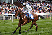 THREADING (6) ridden by jockey William Buick and trained by Mark Johnston winning The Listed Longines Irish Champions Weekend Filles Stakes over 1m (£50,000) at at the York Dante Meeting at York Racecourse, York, United Kingdom on 18 May 2018. Picture by Mick Atkins.