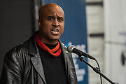 Roger McKenzie. Assistant General Secretary at UNISON - A march against racism, organised by Stand Up to Racism and supporterd by the TUC and most major unions including Unison, Unite, The PCS and the NUT. It started in Portland place and ended up in Parlaiment Square, Westminster - London 18 Mar 2017.
